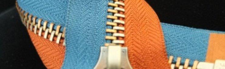 Metal zipper