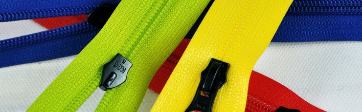 Nylon water resistant zipper