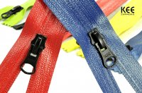 Nylon water resistant zipper