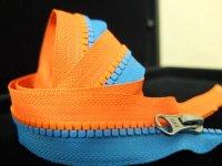 Square Teeth Plastic Zipper(Patent:ZL201130503889.2)